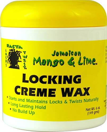 Jamaican Mango & Lime Locking Creme Wax, 6 Ounce (Wax Twists)
