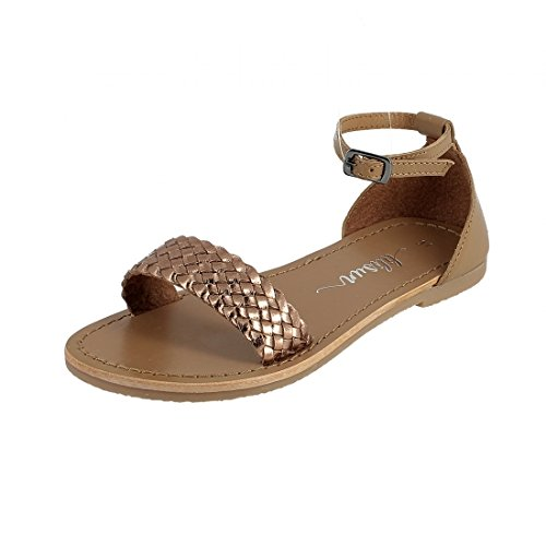 LILISUN - Tongs / Sandales - Lina - Bronze