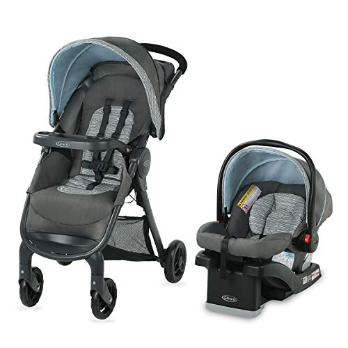 Graco FastAction SE Travel System, Carbie (Graco Fastaction Infant Car Seat)