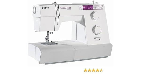 PFAFF 8962700011323 - Máquina de Coser Hobby 1132: Amazon.es: Hogar