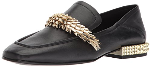 Ash Women's AS-Edgy Loafer Flat, Black, 36 M EU (6 US) Ash Slip On