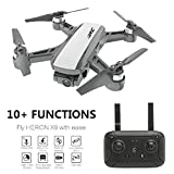 Cinhent Upgrade JJR/C Heron X9 GPS 5G WiFi FPV RC Drone Aircraft with 1080P HD Camera Quadcopter RTF with Modular Battery,Easy to Fly