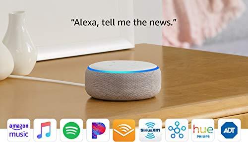Echo Dot (3rd Gen) - Smart speaker with Alexa - Sandstone