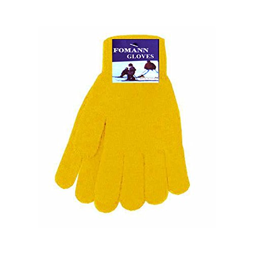 Yellow Gloves (Magic Stretch Gloves for Adults and Teens -One Size Fits Most (Yellow))