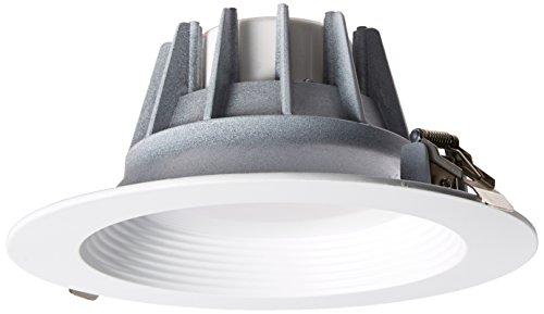 Morris 72627 - 8u0022 25 Watt 120 volt Medium Screw Base 4000K Dimmable LED Recessed Retrofit Kit