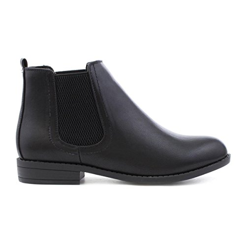 Chelsea Lilley Boot Noir Black Womens qwBPfF
