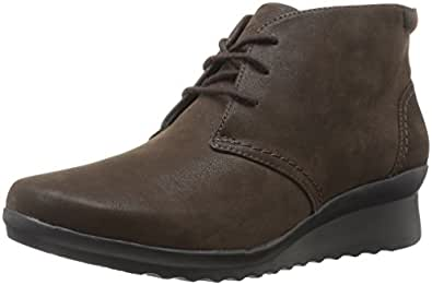 Clarks Women S Cloudstepper Caddell Hop Ankle Boot Amazon