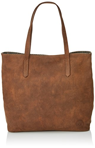 Timberland Tb0m5486 - Bolsos totes Mujer Marrón (Tortoise Shell)