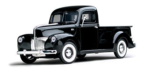 1940 Ford Pickup Truck, Black - Motormax 73170 - 1/18 scale Diecast Model Toy Car - 1940 Truck Ford