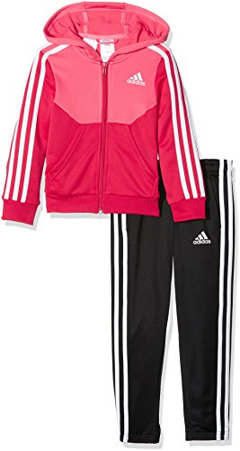 adidas Hooded Tracksuit - Girls - Super Pink - Age 11-12 by adidas