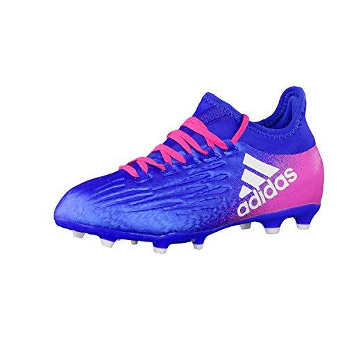 adidas Jungen X 16.1 FG J Fußballschuhe blau / pink