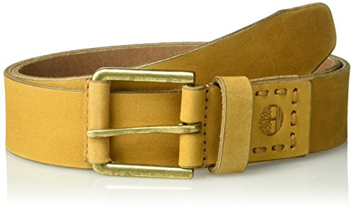- Timberland Men's Casual Leather Belt, Wheat, 34