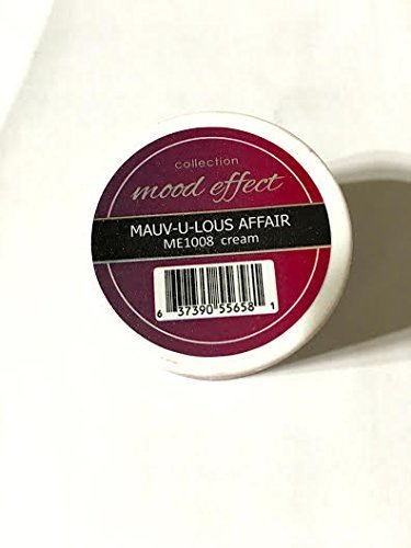 NEW!! Glam and Glits Mood Effects Nail Powder, Mauv-u-lous Affair (Creme), 1 oz. by Glam & Glits