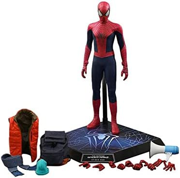 Amazon Com Hot Toys Movie Master Piece The Amazin Spider Man 2 Spider Man Special Edition By Hot Toys Toys Games