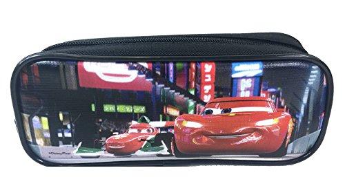 Blue Disney Pixar Cars Double Zippered Pencil Pouch ()