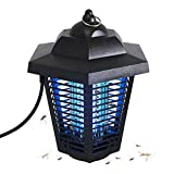 soAR9opeoF Outdoor Mosquito Killer with Trap Lamp,USB Electric Waterproof Safe Photocatalytic Mosquito Killer