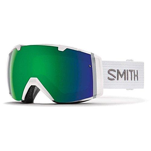 Smith Optics I/O Adult Snowmobile Goggles White / Chromapop Sun by Smith Optics