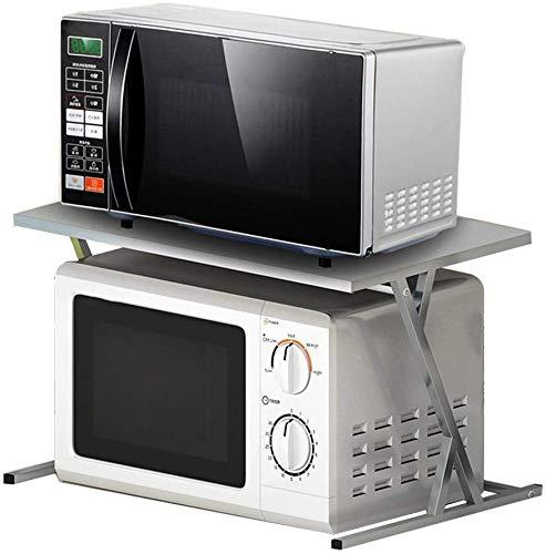 DUDDP Organizador cocina 2-Tier del horno microondas estante de ...