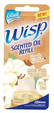 Glade Wisp Flameless Candle Refill, Vanilla Garden (Wisp Air Freshener compare prices)