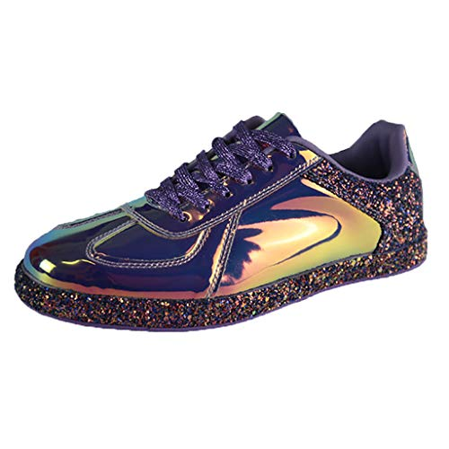 OrchidAmor Women's Fashion Colorful Series Sneakers Cool Wild Reflective Casual Shoes 2019 Summer Swag Shoes