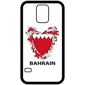 Bahrain - Coat Of Arms Flag Emblem Black Samsung Galaxy S5 Cell Phone Case - Cover
