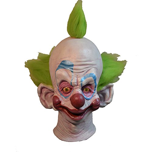 Outer Space Costumes (Trick or Treat Studios Men's Killer Klowns From Outer Space Shorty Mask, Multi, One Size)