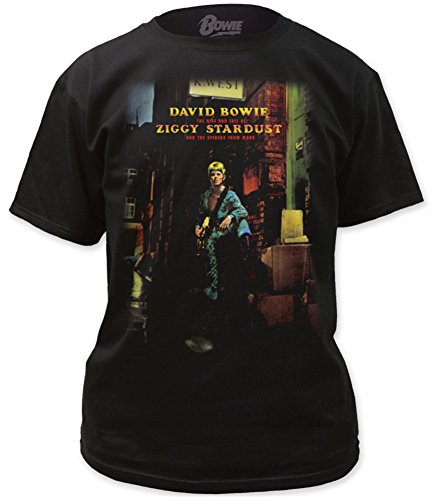 David Bowie Ziggy Plays Guitar Adult Tee (X-Large)