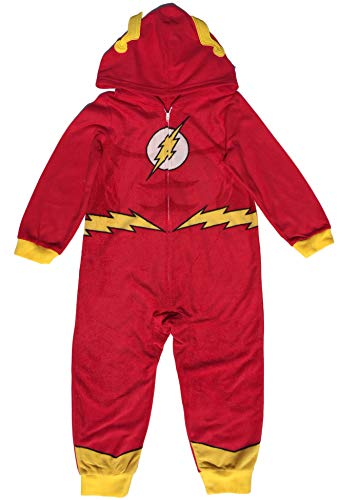 DC Comics The Flash Little & Big Boys Hooded Blanket Sleeper Pajama