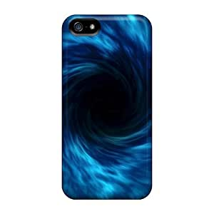 New Black Hole Tpu Skin Case Compatible With Iphone 5/5s