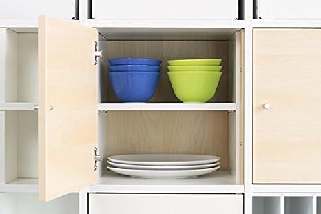 Mensola per Ikea Kallax porta (bianco): Amazon.it: Casa e cucina