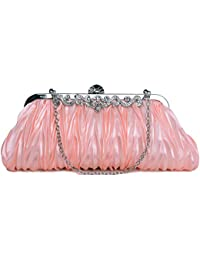 1920s Crossbody Bag for Women, Vintage Evening Clutch Purse Wallet (two chains, 9 colors)