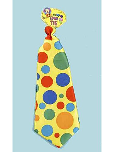 Jumbo Polka Dot Clown Tie]()