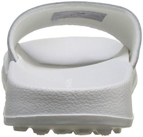 Tommy Hilfiger Sequins Sparkle Pool Slide, Zapatos de Playa y Piscina Para Mujer Blanco (Rwb 020)