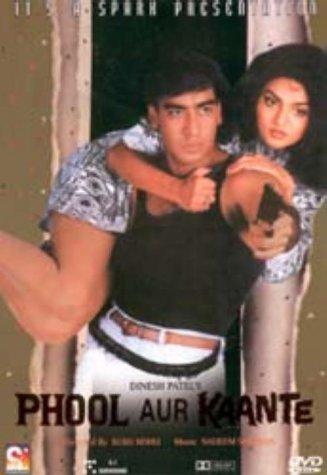 Phool Aur Kaante Dvd Amazon Co Uk Ajay Devgan Madhoo Araf Khan
