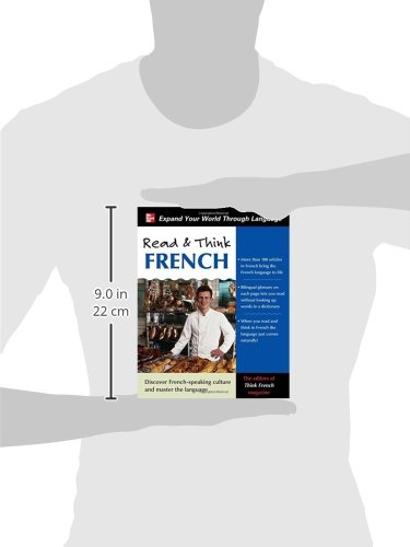 Read & Think French with Audio CD by McGraw-Hill Education (Image #2)