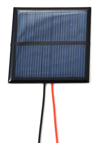Small Solar Panel 4.0V 100mA with wires
