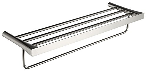 25.13'' Towel Bar - Brushed Nickel - Caster 3 Series AC-AZ058BN - ANZZI by ANZZI