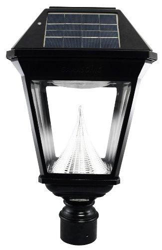 97n012 Black Imperial Ii Solar Lantern 3'' Fitter Gs-97nf
