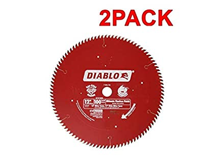 Freud D12100X 100 Tooth Diablo Ultra Fine Circular Saw Blade for Wood and Wood Composites