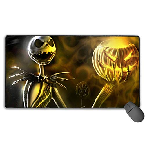 Christmas Night-mare Dark J-ack Durable Gaming Mouse Pads Pr