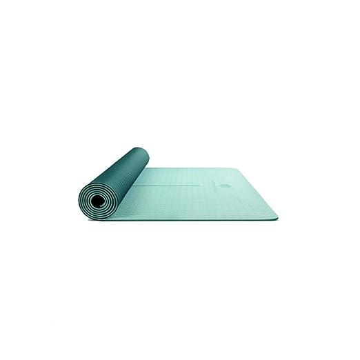 YXLZZO TPE Principiante Fitness Engrosamiento Fitness Mat de ...