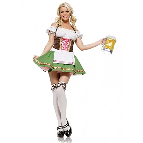 Adult Gretchen Oktoberfest Beer Maid Costume (Large)