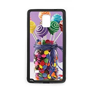 T-TGL(RQ) Samsung Galaxy Note 4 Phone Case Lollipops with Hard Shell Protection