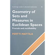 Geometry of Sets and Measures in Euclidean Spaces: Fractals and Rectifiability