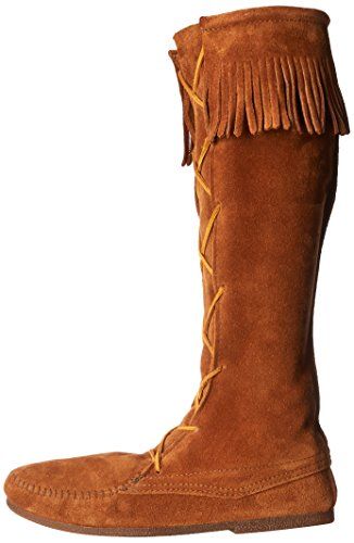 Minnetonka-Mens-Front-Lace-Knee-High-Boot