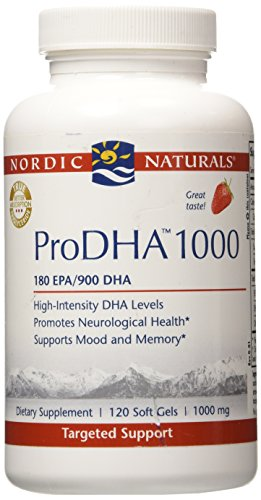 Nordic Naturals - ProDHA Strawberry 1000 mg 120 softgels