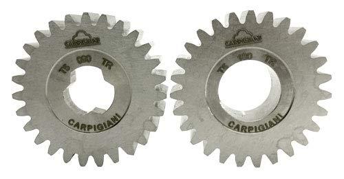COUPLE ENGRENAGE POUR MACHINE A CHANTILLY MINIWIP//G CARPIGIANI