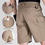 FREE SOLDIER Men's Tactical Cargo Shorts Relaxed