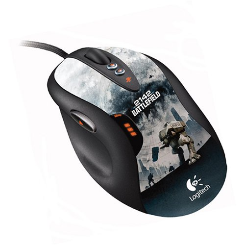 Mouse Gamer : Logitech G5 Laser : Battlefield 2142 Edition