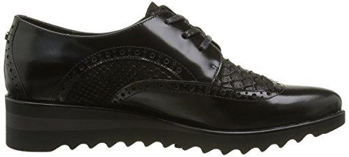 Brax Firenze Schnürschuh, Zapatos de Cordones Brogue para Mujer Negro - negro